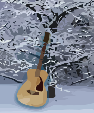 AWT_GuitarWinterTree_vec01